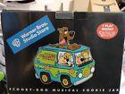 Warner Brothers Scooby Doo Mystery Machine Musical cookie jar NIB
