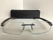 New Porsche Design P8202 S2 D 58mm Rimless Men's Eyeglasses Frame Italy
