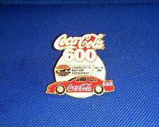 Coca Cola 600 Charlotte Motor Speedway 1995  Vintage Lapel Pin pinback Coke