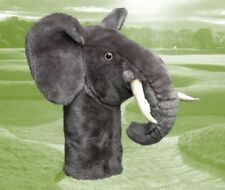 Daphnes Novelty Golf Club Driver 1 Wood Headcover Elephant