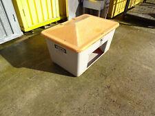 mit Entnahmeöffnung Mobiler Streugutbehälter 360 Liter grau//anthrazit
