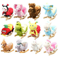 12 Baby Infant Kids Animal Character Rockers With Rocking Nursery Rhymes,Rocking
