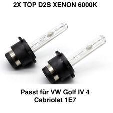 2x nuevo d2s 6000k 35w Xenon sustituto peras TÜV libre VW Golf IV 4 cabriolet 1e7