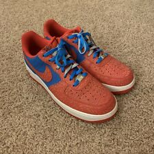 Nike Air Force 1 Low Photo Blue Hyper Red 488298-412 Elephant Godzilla Size 12