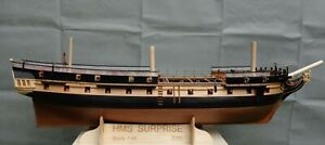 "HMS Surprise Scale 1/48 56.9"" 1445mm Wood Model Ship Kit"