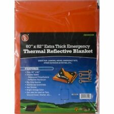 Emergency Thermal Reflective Waterproof Blanket Orange Extra Thick Double Sided