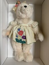 Annette Funicello Peaches And Cream Bear With Box And COA