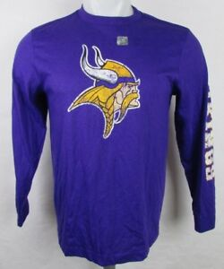 Minnesota Vikings NFL Youth Purple Long Sleeve Tee