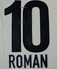 BOCA JUNIORS 2013 AWAY PINK  ROMAN SET NAME AND NUMBER
