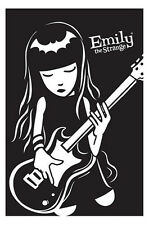 EMILY THE STRANGE POSTER (61x91cm) BASS GUITAR PICTURE PRINT NEW ART