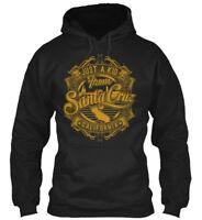 Long-lasting Just A Kid From Santa Cruz - 'cruz Gildan Hoodie Sweatshirt