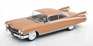 1:24 White Box Cadillac Eldorado  1959 lightbrown-metallic
