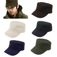 Eg _ Donna Uomo Vintage Regolabile Militare Cappello Rétro Cadetto da Sole Delux