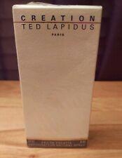 Vintage CREATION  Ted Lapidus Paris EDT Vaporisateur 30ML  / 1 oz *SEALED*