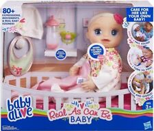 Baby Alive Real As Can Be Baby Blonde Hair Doll