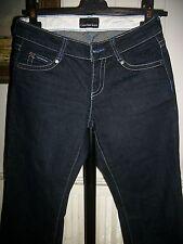 Pantalon JEANS bleu brut CALVIN KLEIN W36 34/36 taille basse stretch 16VH25