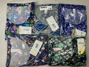 5 Disney LuLaRoe Perfect T Shirt Size Large 25