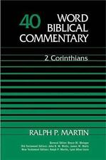 Word Biblical Commentary: 2 Corinthians 40 by Ralph P. Martin (1985, Hardcover)