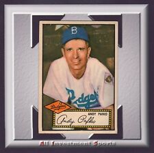 1952 Topps ANDY PAFKO #1 VG (CENTERED)  *superb baseball card for your set* M99C