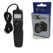 Ex-Pro® RM-CB1 Timer Remote Shutter Release Cable with LCD Display for Olympus