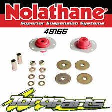 NOLATHANE FRONT CASTER BAR BUSHES SUIT HOLDEN COMMODORE VY VZ 02-06 48166