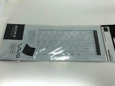 Genuine Sony VGP-KBV14/W IT VAIO Keyboard Skin white for SVT131 SVT141 T series