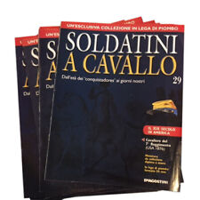 Catalogues Magazines Newspapers DE AGOSTINI Soldiers Of Lead IN Horse Collection