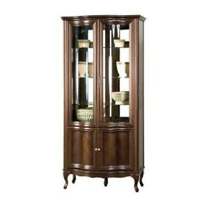 Classic Display Case Wardrobe Italy Furniture Cabinet Glass Cabinets IN Stock