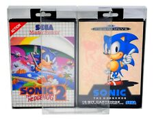 10 x GP2 Sega Mega Drive / Master System Game Box Protectors 0.4mm PET Case