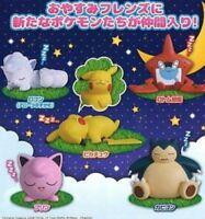 Pokemon Mascot Sleeping Display Figure Pikachu Jigglypuff Vulpix Snorlax @86262
