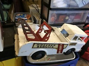 VINTAGE MARX BIG BRUISER TOW TRUCK Made in USA