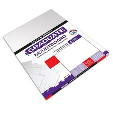 DALER ROWNEY GRADUATE A3 ICE WHITE MOUNT BOARD PACK OF 4