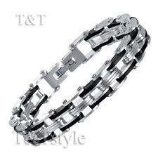 TT 316L Solid Stainless Steel Link Bracelet (BBR133)