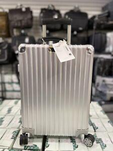RIMOWA Classic Cabin S Carry On Luggage Suitcase Aluminum