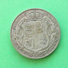 1925 George V Silver Half-Crown SNo55516