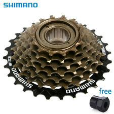 Shimano 7 Speed MF-TZ21 Freewheel / Cassette 14 / 28 Index - Screw On With tools