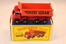 Matchbox Lesney 17 Hoveringham 8 wheel tipper near mint in box