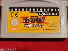 YU GI OH YUGI VS JOEY GAME BOY ADVANCE YUGIOH YUGI VS JOEY NINTENDO GBA