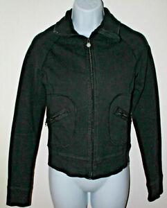 Lululemon Women's Black Yoga Jacket unsure of size, please check dimensions