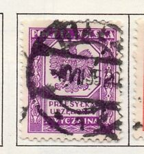 Poland 1929-38 Early Issue Fine Used 190913