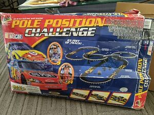 Pole Position Challenge Nascar HO Scale Electric Slot Racing