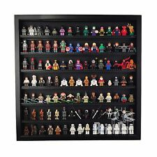 LEGO Minifigure Large Display Case Frame Holds over 100 figures Black