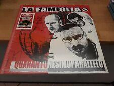 LA FAMIGLIA - 41° PARALLELO - NUMERATO - ROSSO (?) - RSD 2020 - 2 LP