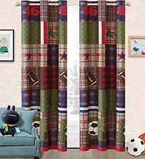 Boys Bedroom Curtains In Kids & Teens Window Treatments for ...