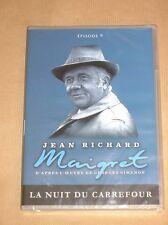 DVD SERIE / MAIGRET / JEAN RICHARD / LA NUIT DU CARREFOUR / NEUF SOUS CELLO