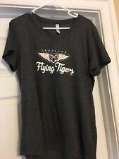 LAKELAND FLYING TIGERS WOMEN'S V-NECK HEAT GEAR T-SHIRT BY UNDER ARMOUR.   XL