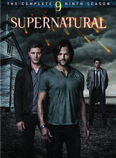 Supernatural: Season 9 DVD, Misha Collins, Jensen Ackles, Jared Padalecki,