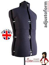 Menswear Mannequins Tailors Dressmakers Dummy Mannequin Adjustable Dress Form