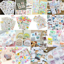 Hot DIY Craft Scrapbooking Diary Book Planner Decal Kawaii PVC Paper Stickers