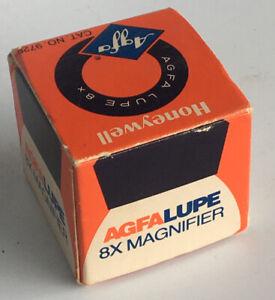 AGFA Lupe 8x, vertrieben von Honeywell, in OVP
